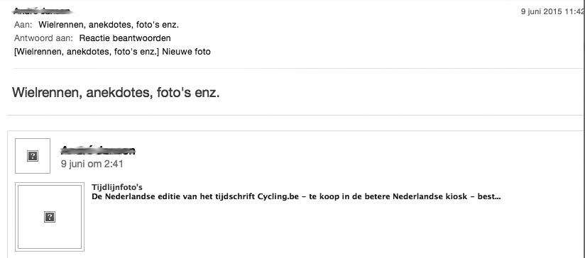 e-mailmarketing toepassen - afbeeldingen kwijt